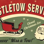 Mistletow Service Christmas card