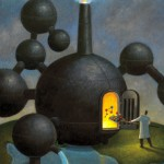 Conceptual illustration by George Schill - molecule factory