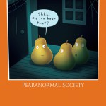 Pearanormal Society Halloween card