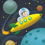 Space Monkey  © AGC